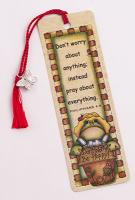 Don't Worry Be Hoppy - Bookmarker