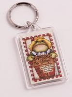 Don't Worry, Be Hoppykey ring