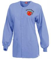 Nurses Scrub Jacket in Lt Blue
