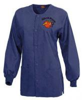 Nurses Scrub Jacket in Navy Blue