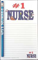 #1 Nurse - Note Pad and Pencil Set