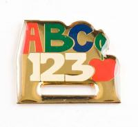 ABC Badge Holder  Lapel Pin