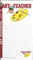 Art Teacher Notepad Set   - Note Pad and Pencil Set