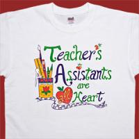 Teacher's Assistants are all Heart T-Shirt