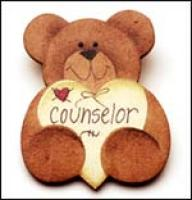 Counselor Bear Pin