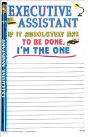 Executive Assistant - Note Pad and Pencil Set
