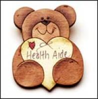 Health Assistant Apple Pin