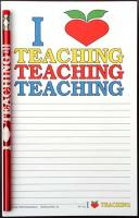 I Love Teaching - Note Pad and Pencil Set
