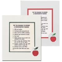 Top Ten Reasons to Become a Kindergarten Teacher Mat