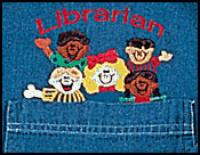 Librarian Denim Shirt    SALE Only $10.00 Only Small is left.