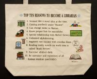 Librarian  Top 10 Totebag