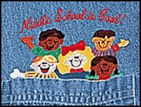 Middle School Is Cool! Denim Shirt    SALE Only $10.00