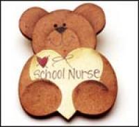 School Nurse Bear Pin