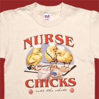 Nurse Chicks Call the Shots T-Shirt