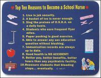 School Nurse Mouse Pad