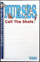 Nurses Call the Shots - Note Pad and Pencil Set  SOLD OUT