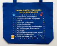 Pre-School Teacher Top 10 Totebag