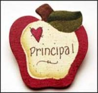 Principal Apple Pin