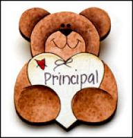 Principal Bear Pin