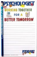 Psychologist notepad - Note Pad and Pencil Set