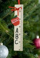 Personalized Ruler Ornament