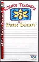 Science Teachers are Energy Efficent - Note Pad and Pencil Set