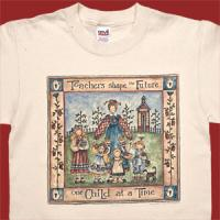 Teachers Shape the Future One Child at a Time T-Shirt