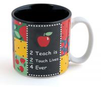 2 Teach is 2 Touch a Life 4 Ever  Mug