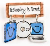 Technology is Great Ceramic Pin