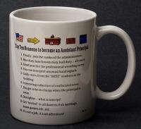 Assistant Principal Top 10  Reasons Mug
