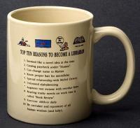 Librarian Top 10 Reasons Mug