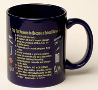 School Nurse Top 10 Reasons Mug