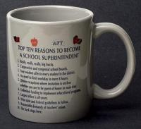 School Superintendent Top 10 Reasons Mug