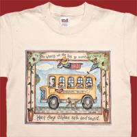 Wheels On the Bus Go Round and Round T-Shirt