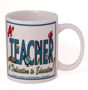 A+ Teacher mug