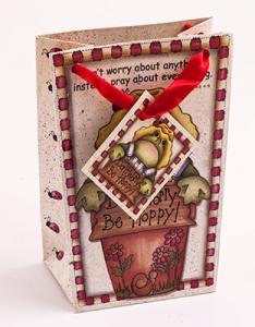 Don't Worry, Be Hoppy Mini Gift Bag