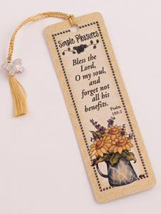 Simple Pleasures - Bookmarker