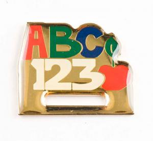 ABC Badge Holder  Lapel Pin
