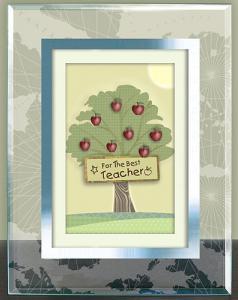 Teacher Apple Tree Plaque