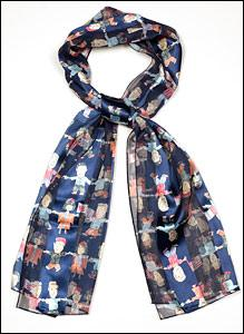 Navy United Kids Scarf
