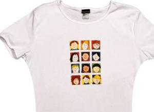 Friends Scoop Neck T-Shirt