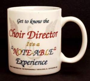 Choir Director Mug