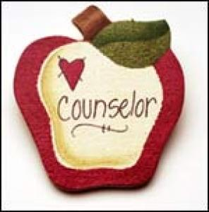 Counselor Apple Pin