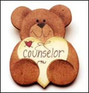 Counselor Bear Pin