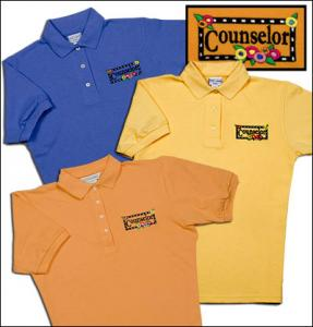 Counselor Flower Polo Shirt