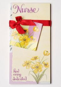 Nurse...Kind, Caring and Dedicated - Pocket  Memo Pad