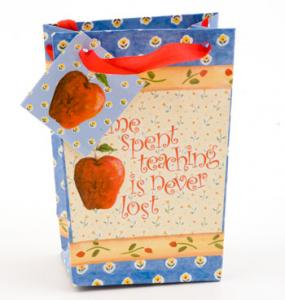 Time Spent Teaching  Mini Gift Bag