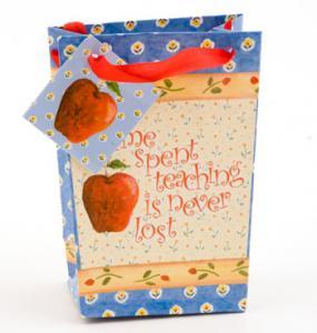 Time Spent Teaching  Mini Gift Bag
