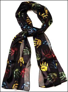 Black Hands Scarf