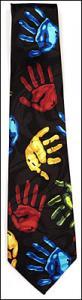 Black Hands Tie